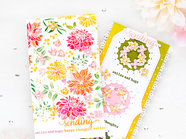 Slimline Cards - Two Takes | Pinkfresh Studio