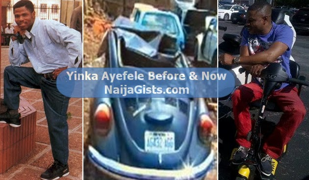 yinka ayefele car accident spinal cord