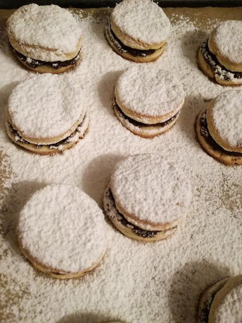 Makóweczki - ciasteczka krucho-drożdżowe