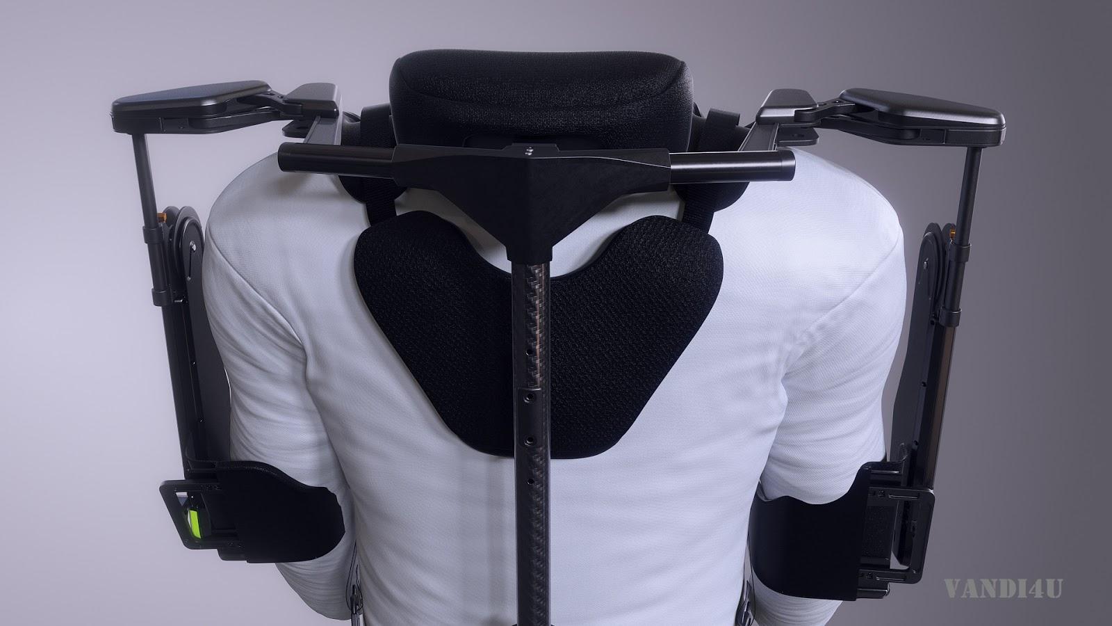 Hyundai Motor Group Develops Wearable Vest Exoskeleton to Alleviate Burden in Overhead Work   VANDI4U