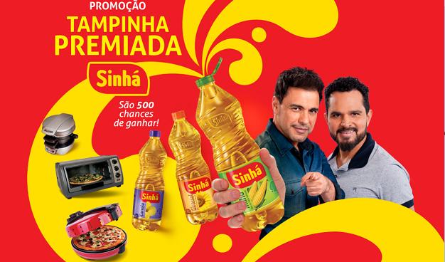 """Promoção """"Tampinha Premiada Sinhá"""" blog topdapromocao.com.br facebook instagram"""