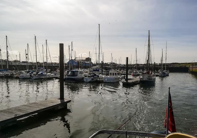 Photo of Ravensdale leaving Maryport Marina