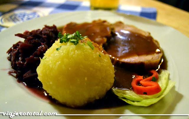 Gastronomía y platos típicos de Múnich