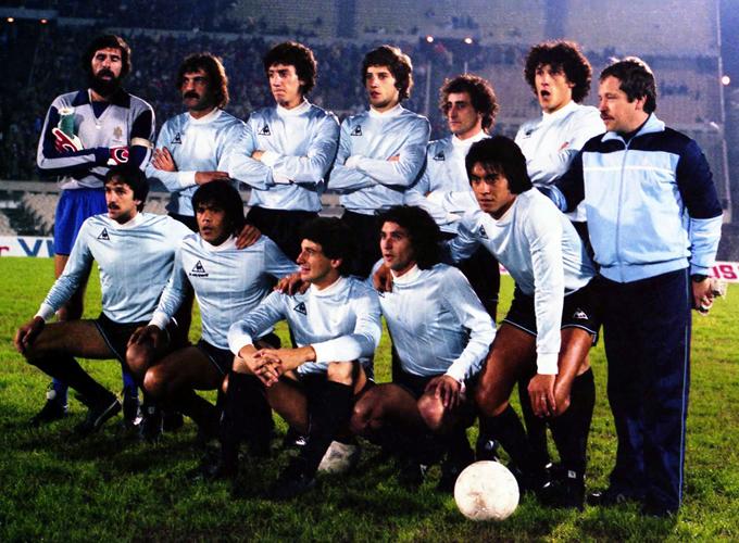 Formación de Uruguay ante Chile, Copa América 1983, 1 de septiembre