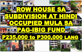 Assets shall conduct a public auction for the sale of acquired properties at Roof deck JELP Business Solution Center, No. 409 Shaw Boulevard, Bgry. Addition Hills, Mandaluyong City on:  NOVEMBER 20, 2019, there will be a total of 129 properties in CAVITE and NOVEMBER 21, 2019, there will be 128 total of properties from CAVITE, BULACAN, LAGUNA, RIZAL & METRO MANILA for a TOTAL of 257 properties, mostly row house for bidding. Check some of the properties, especially row house with minimum selling price of P235,000 to P260,000. There are other house and lot worth P300K to P600K with prices depending on location and size. We included the location map of some properties for sale that are very affordable.