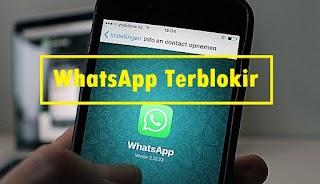 Cara Mengaktifkan Kembali Nomor WhatsApp Yang Terblokir
