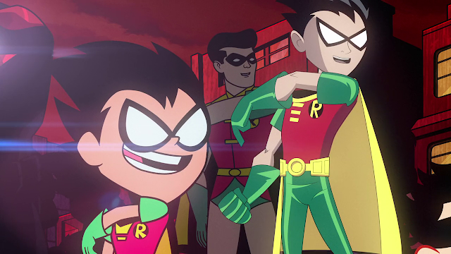 Teen Titans Go! Vs. Teen Titans (2019) 720p BRrip Latino - Ingles