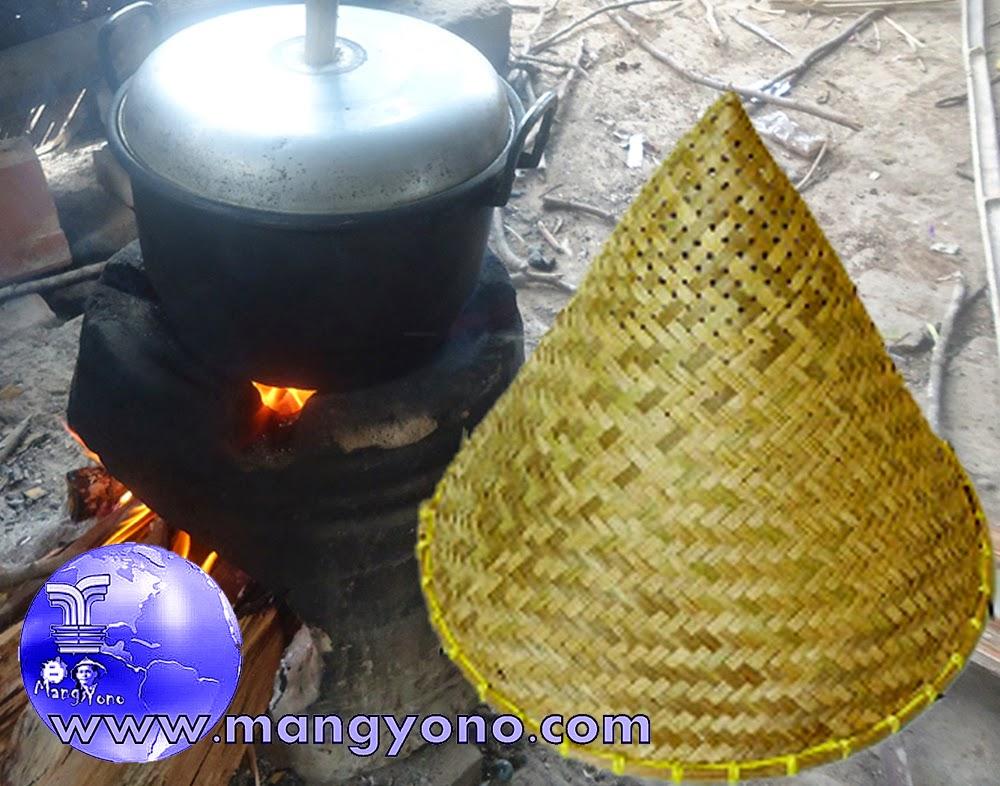 Peralatan Masak Tradisional Indonesia Kukusan Atau Aseupan