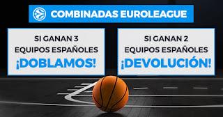 Paston promo combinadas Euroleague hasta 20 diciembre 2019