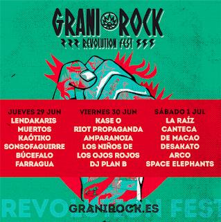 El festival extremeño GraniRock desvela su cartel por días