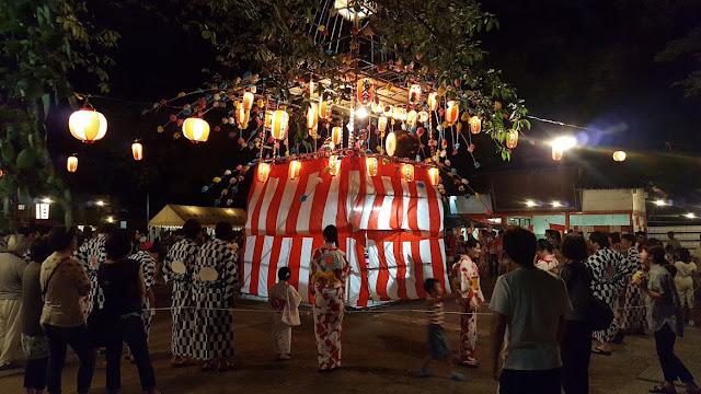 Obon Matsuri di Maebashi, Gunma
