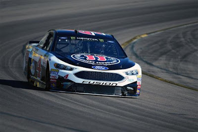 Kevin Harvick in the Jimmy John's #4 Ford Fusion for Stewart-Haas Racing.