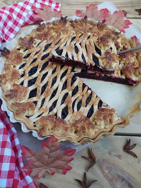 Receta de tarta de moras. Berries pie recipe. Postre de otoño. Merienda. Fácil. Masa quebrada. Lidl. Moras de zarza. Autumn. Horno. Cuca