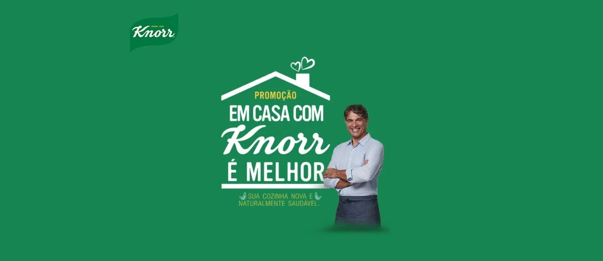 Promoção Knorr Em Casa É Bem Melhor 2020 - Cadastrar, Prêmios