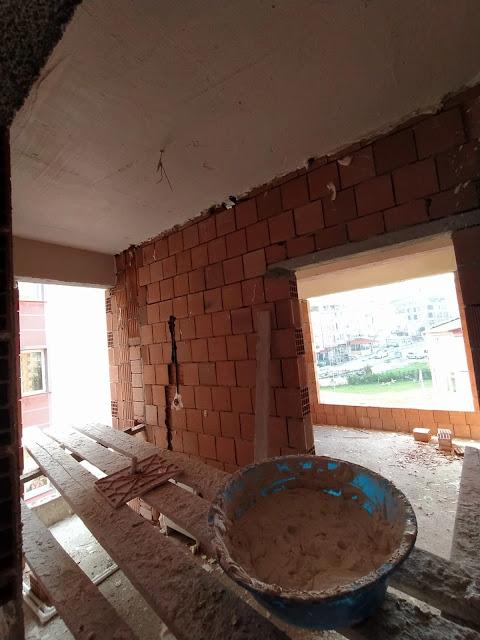 tavanlara alçı sıva yapılması