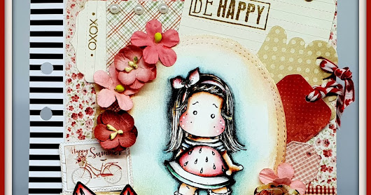 Nuovo post per Timbroscrapmania Happy Summer