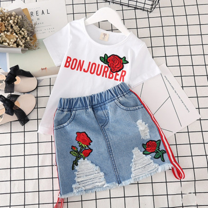 https://www.popreal.com/Products/flower-embroidered-denim-ripped-skirt-sets-20230.html?color=red