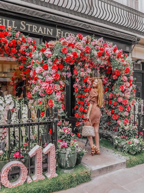 Neill Strain Floral Couture No11 Shop Front