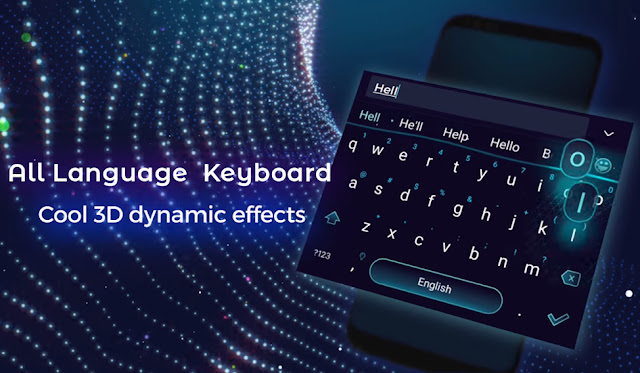 تنزيل All language Keyboard - DIy nEon kEyboard themes لوحة مفاتيح متعددة اللغات  للاندرويد