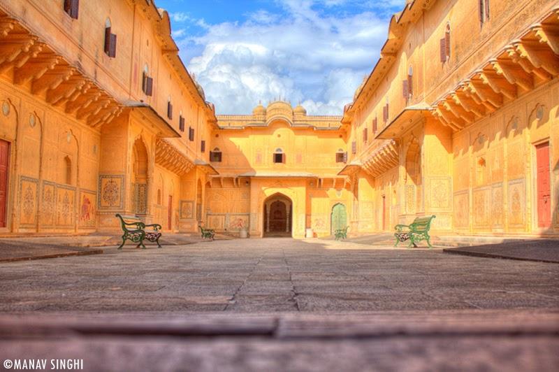 Nahar Garh Fort, Jaipur, Rajasthan.