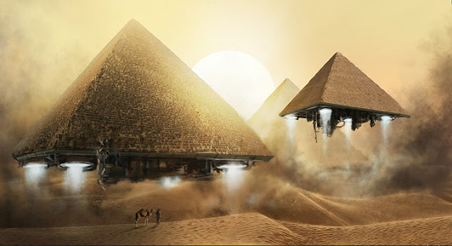 4K Pyramid Egypt Animated Wallpaper Engine
