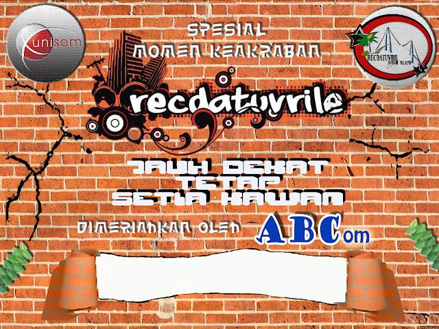 Desain Backdrop Komunitas RECDATUVRILE 2013