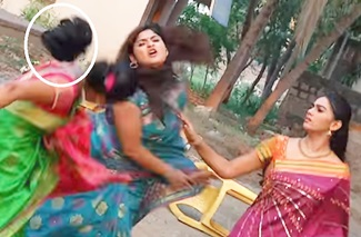 Funny fails at shoot in indian screen