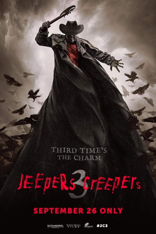 Poster oficial de Olhos Famintos 3 - Jeepers Creepers 3