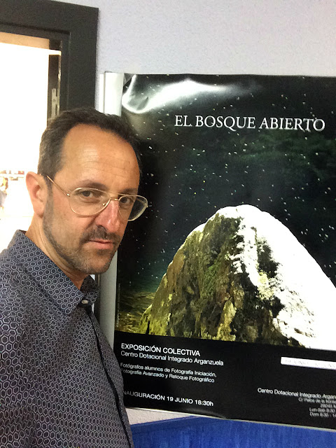 El Bosque Abierto - cartel exposicion centro cultural arganzuela