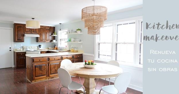 Ideas low cost para reformar tu cocina antigua sin obras for Tu cocina online