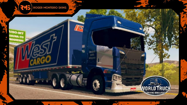 Roger Monteiro Skins - Skins World Truck Driving Simulator