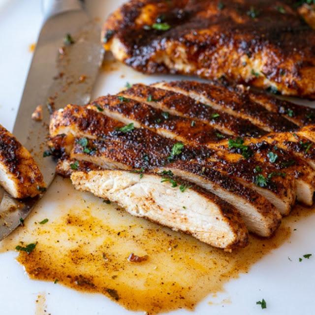 Juicy Oven Baked Chicken Breast Recipe