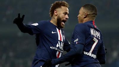 Video Cuplikan Gol: Paris Saint-Germain 2-0 Nantes (Ligue 1)