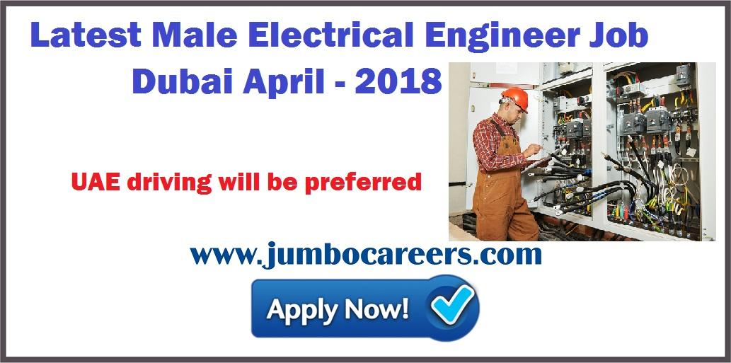 Latest Electrical Engineer Jobs Dubai on Free Company