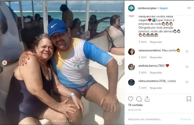 Grupo de turistas que sofreu acidente com catamarã em Maragogi não usava colete salva-vidas, diz filho de vítima
