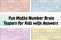 Fun Maths Number Brain Teasers for Kids with Answers and Explanation