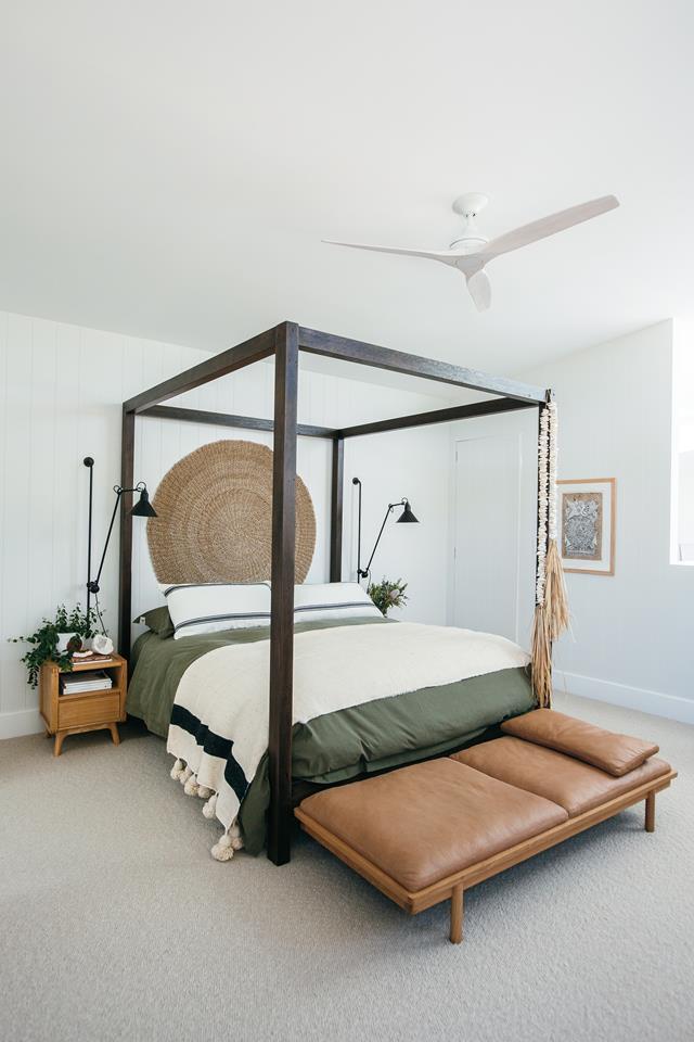 Main bedroom of the Blue Lagoon Build