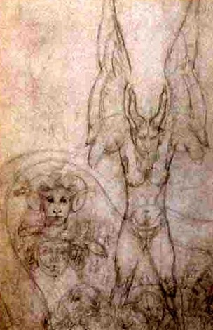 Austin Osman Spare, Art, Arte, Draw, Ocultismo, Demons