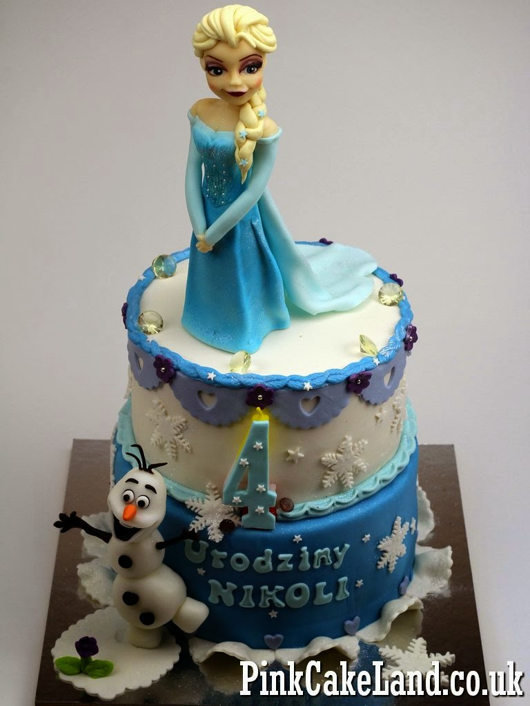 frozen birthday cake patisserie novelty cakes in 4381
