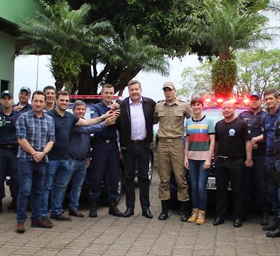 Guarda Municipal de Chapecó (SC) recebe novos veículos e armamento