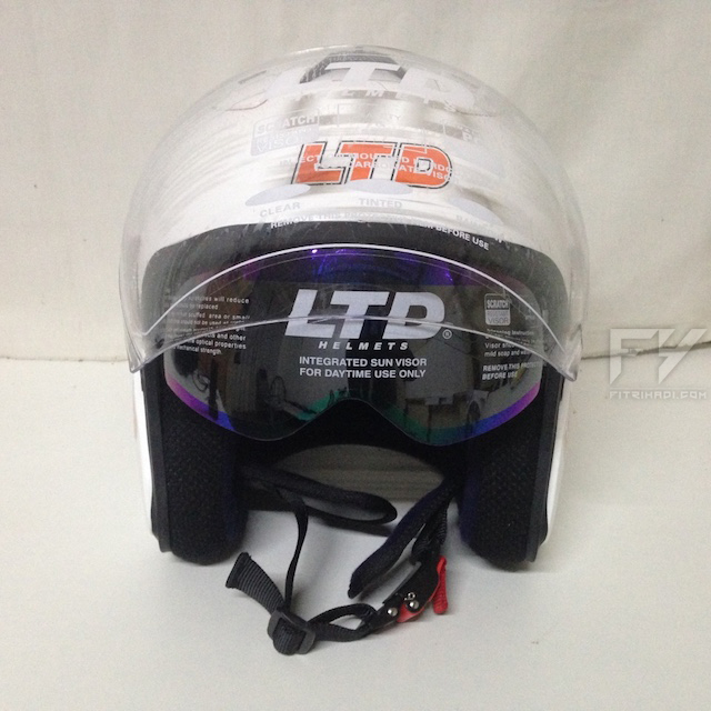 Review Helmet Double Visor LTD