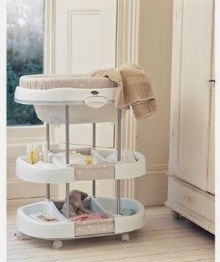 Brevi Baby Bath Changing Station