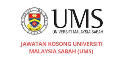 Jawatan Kosong Universiti Malaysia Sabah 2019 (UMS)