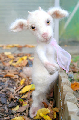 Amigurumi goat realistic