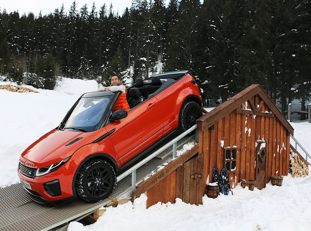 Range Rover Evoque Convertible - A Unique Marriage