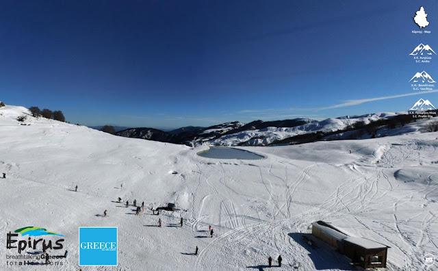 Το έργο αυτό της Περιφέρειας Ηπείρου είναι ένα πρωτότυπο έργο που υλοποιήθηκε για πρώτη φορά στην Ελλάδα στα χιονοδρομικά κέντρα της Ηπείρου, σε συνεργασία με την WEB Greece και το