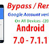 A New Way To BYPASS GOOGLE Account Samsung Galaxy Android 7.0-7.1 (NEW)(2018)