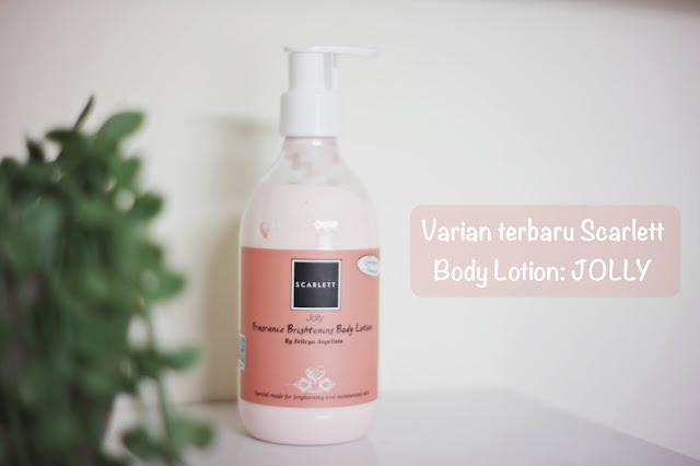 review body lotion scarlett whitening