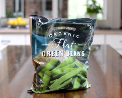 Trader Joe's Flat Green Beans, a product review ♥ A Veggie Venture.