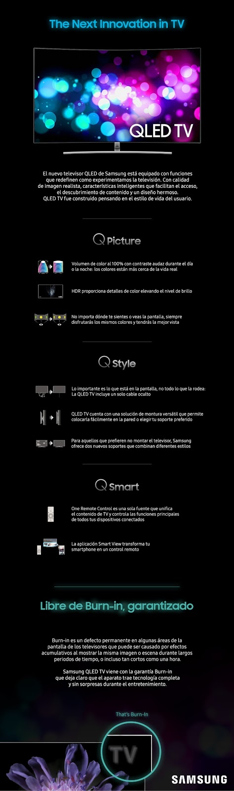 QLED TV de Samsung, libre de Burn-in, la solución perfecta para los amantes de los videojuegos